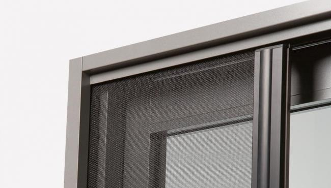 Centor framing systems include hardware for panels and built-in insect screen