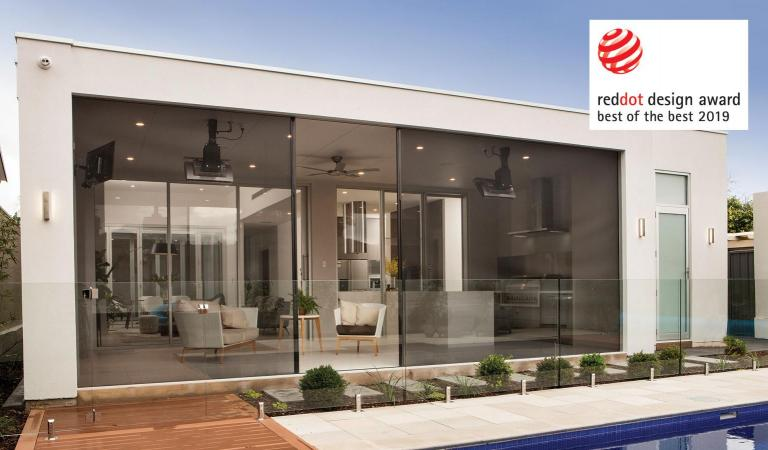 Centor is celebrating worldwide recognition of its luxurious S4 Screen and Shade System after winning a Red Dot 'Best of the Best' Award in the internationally respected German design competition.