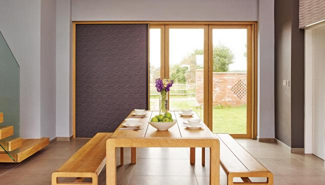 Centor 205 folding door in a converted barn house
