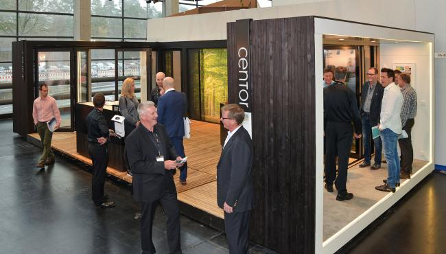 Centor display at Fensterbau 18