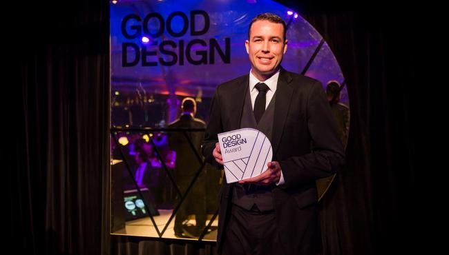 Centor product designer presented with Good Design Award
