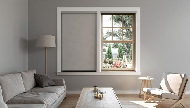 Centor S6 blackout blind for aluminium windows