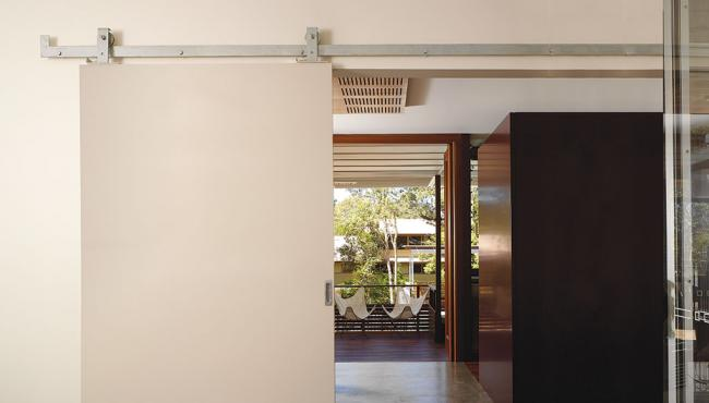 Centor A6 sliding door hardware for internal use