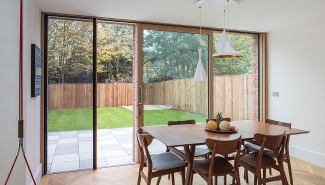 211 Sliding Door with built in insect mesh screen