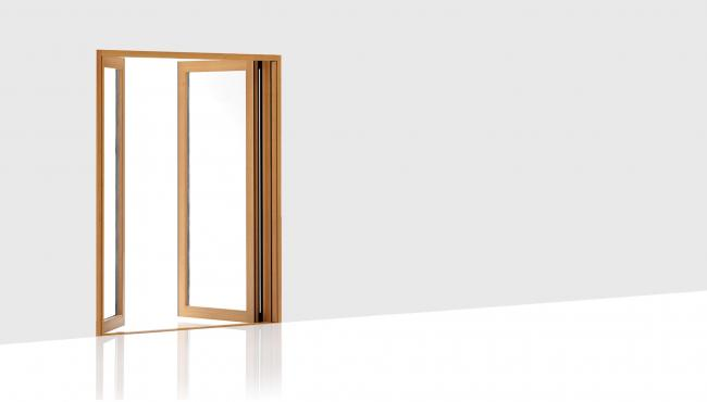 203 Integrated French Door