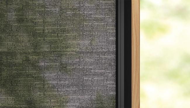 Light-filtering shade for Integrated Doors