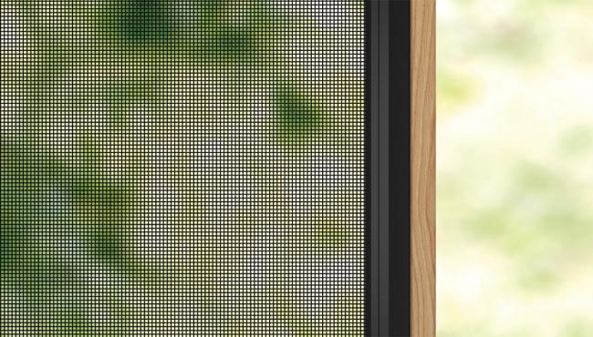 Standard weave insect mesh for Centor Integrated Doors