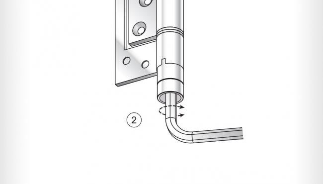 Surelock 5 adjustment with an allen key