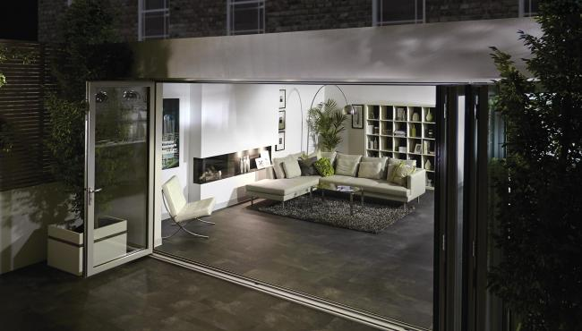335 aluminium patio door