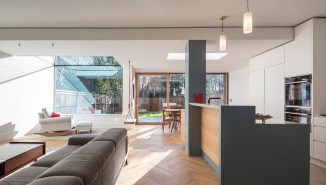 Centor Integrated 211 Sliding Door in London home