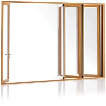 Centor folding doors have no compromises