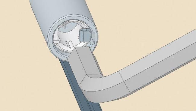 Centor folding hardware systems can easily being adjusted by just using a allen key and screw driver