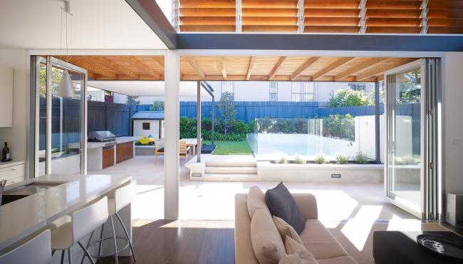 bifold patio doors specified for the perfect home