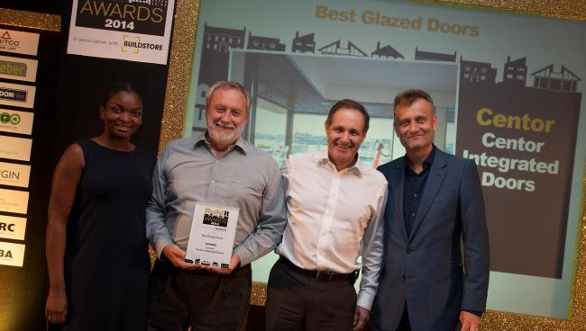 Centor 205 Integrated Folding Doors were named Best Glazed Doors at this years' Build It Awards.
