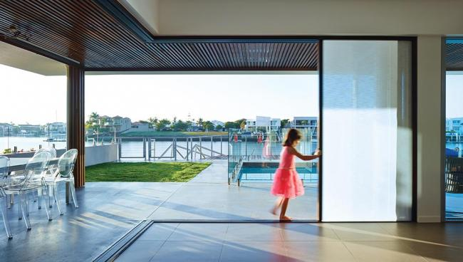 This newly-renovated family home is now fully equipped to combat harsh sunlight and glare.
