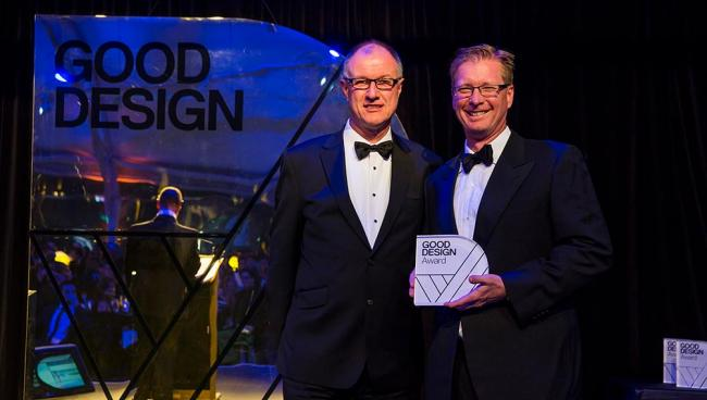 Centor was honored to receive 'Best Overall' in Business Model Design at the 2015 Good Design Australia Awards.